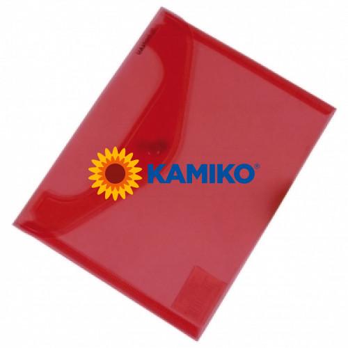 Plastový obal C5 červený Donau (KP235400)