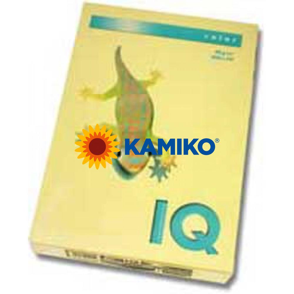 Kopírovací papier 80g A4 IQ color žltý YE23