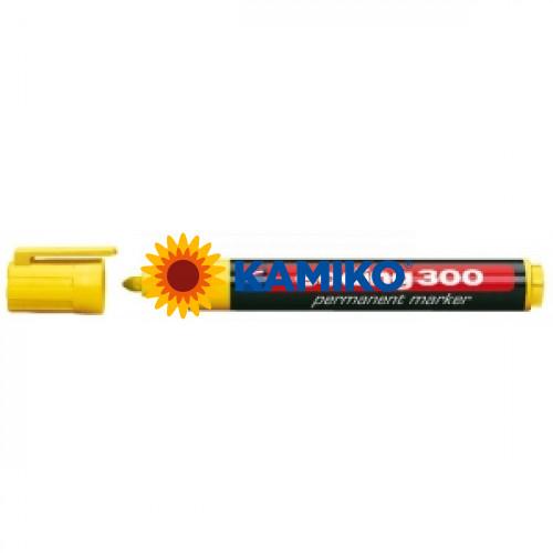 Permanentný popisovač edding 300 žltý