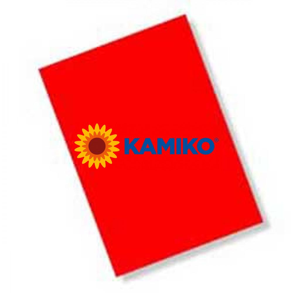 Magnetický hárok 240 x 320 mm červený