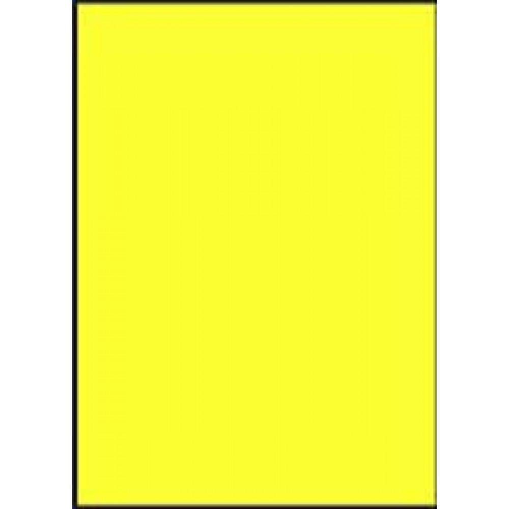 Etikety laser fluo.žlté A4