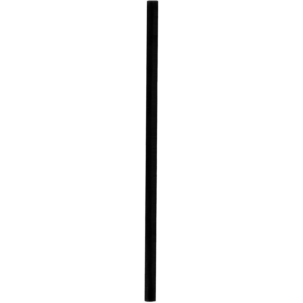 Slamky JUMBO 25 cm, pr. 8 mm, čierne