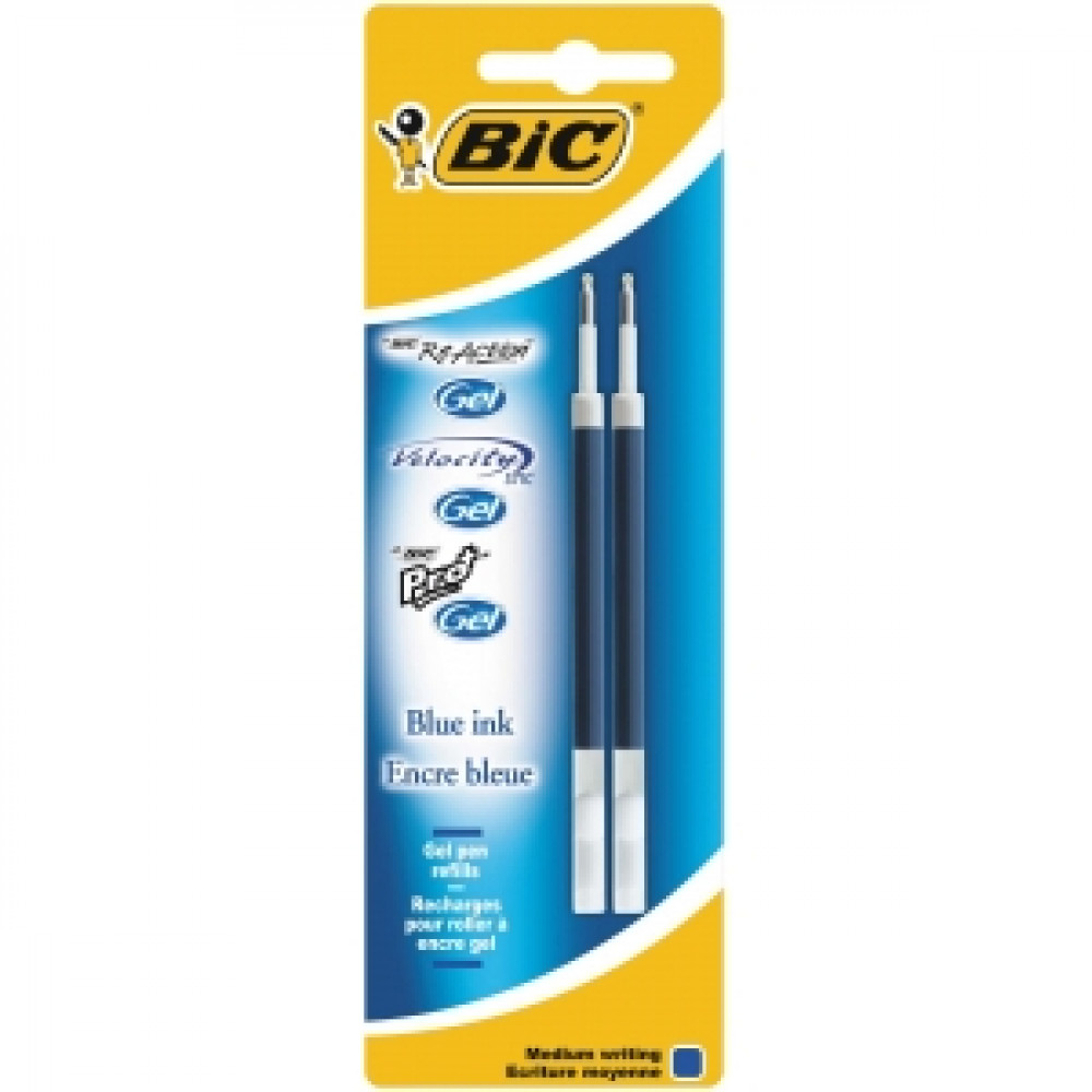 Náplň pre BIC Gel modrá 2ks