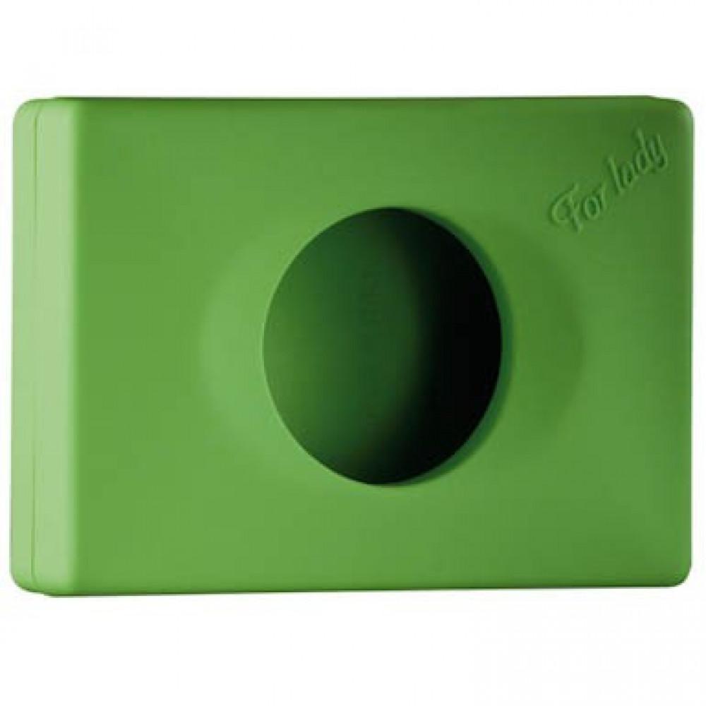 Zásobník na hygienické vrecká COLORED EDITION, zelený