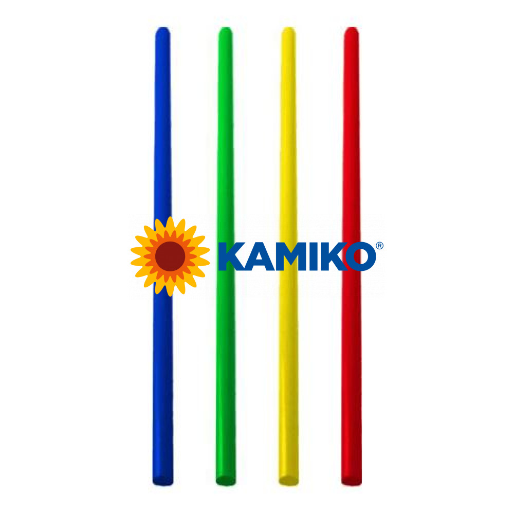 Slamky JUMBO 13 cm, pr. 5 mm, farebný mix