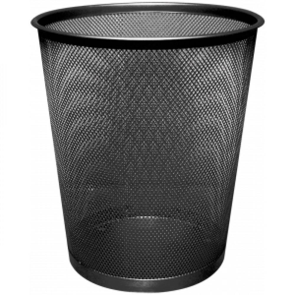 Drôtený odpadkový kôš 19 litrov čierny