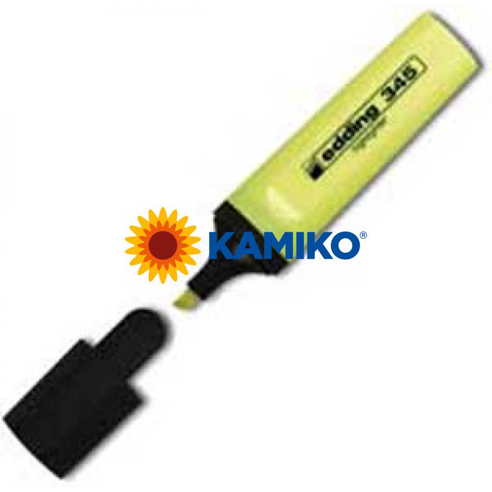 Zvýrazňovač edding 345 žltý