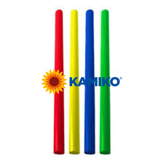 Slamky JUMBO 25 cm, pr. 8 mm, farebný mix