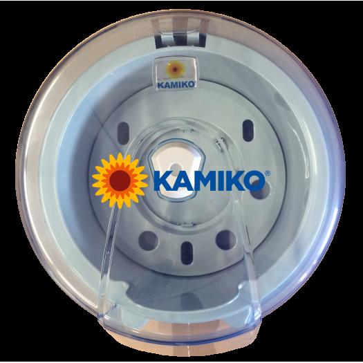 Zásobník toaletného papiera KAMIKO CENTER L, transparentný