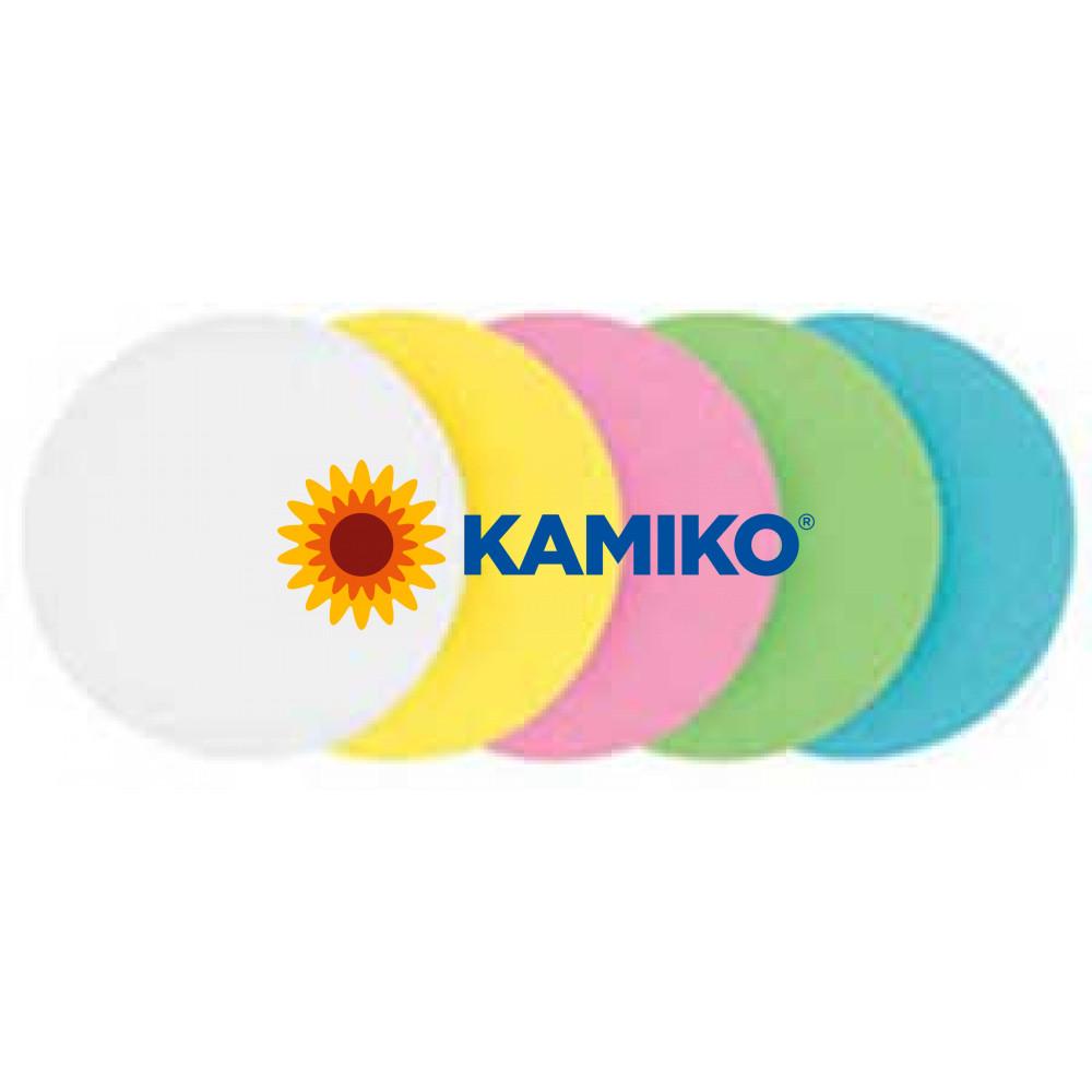 Moderačné kruhy 10 cm farebný mix, 500 ks