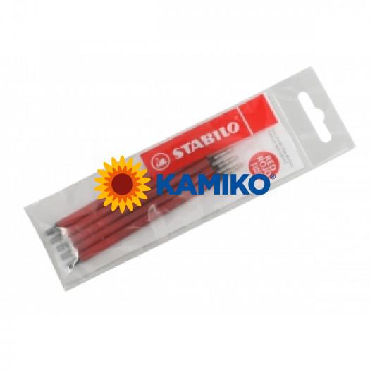 Náplň pre guličkové pero STABILO Marathon 5ks červená
