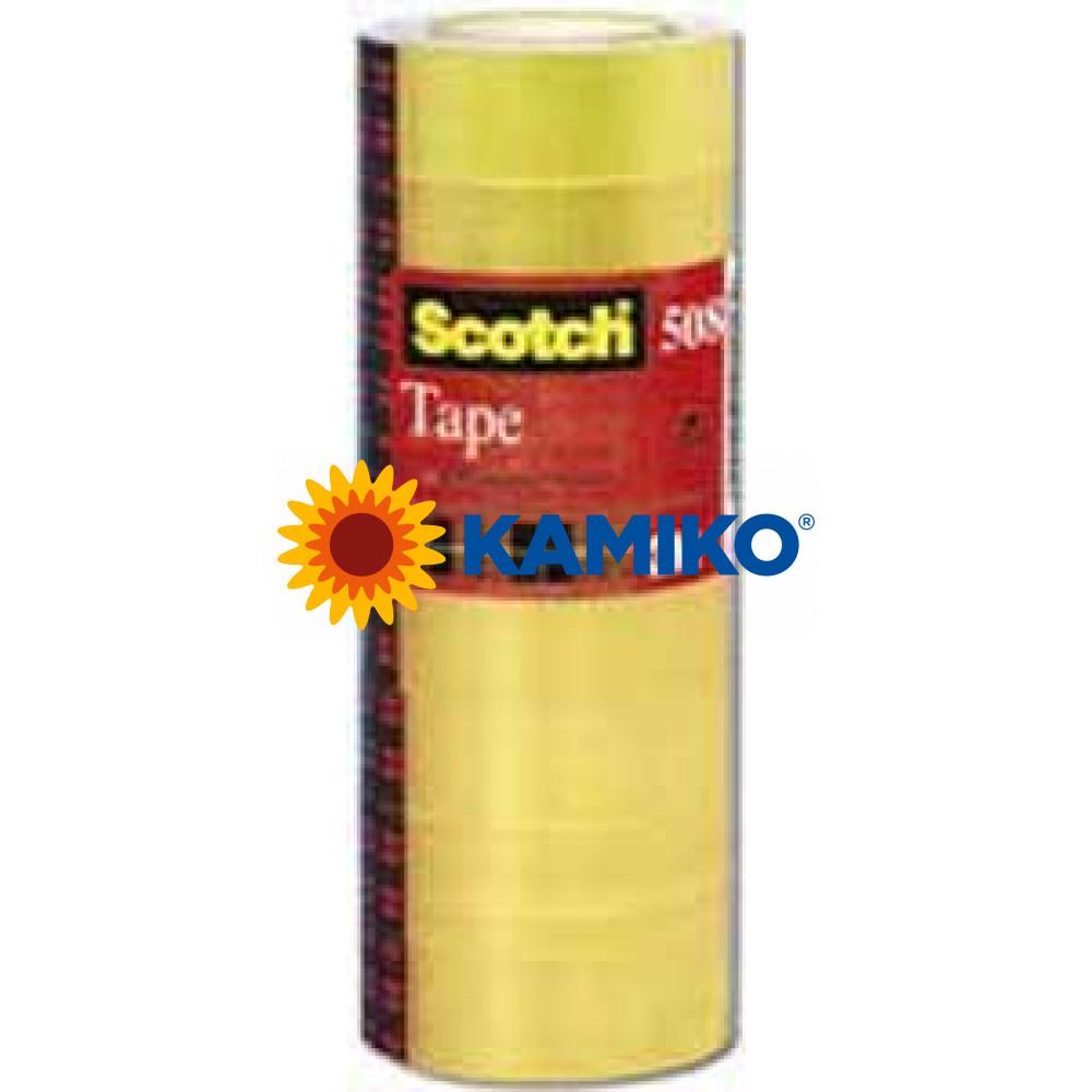 Lepiaca páska Scotch 508 15 mm x 33 m, 10 ks