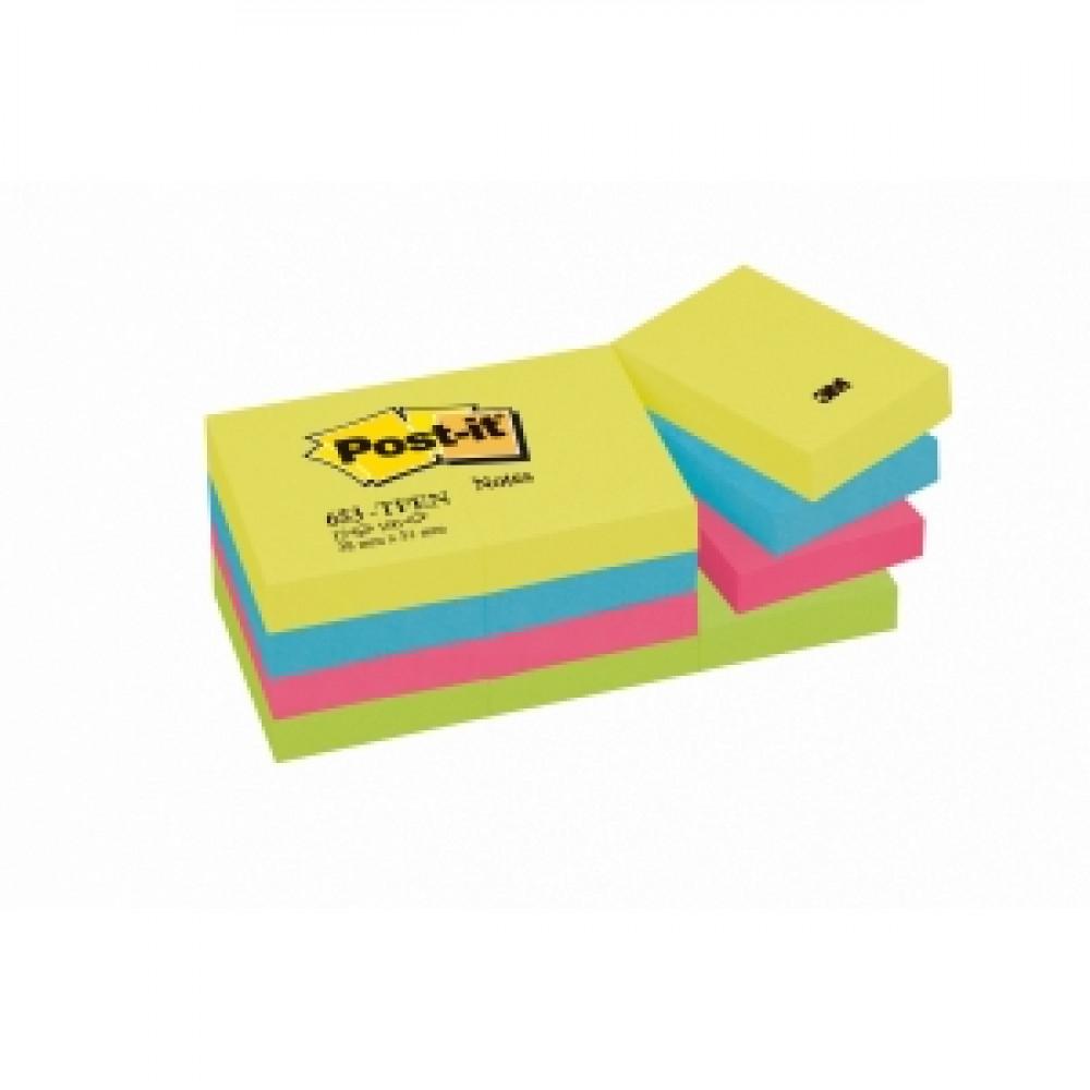 Samolepiaci bloček Post-it Rainbow 38x51 energia
