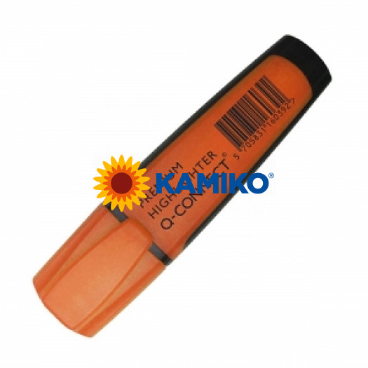 Zvýrazňovač oranžový Q-CONNECT Premium