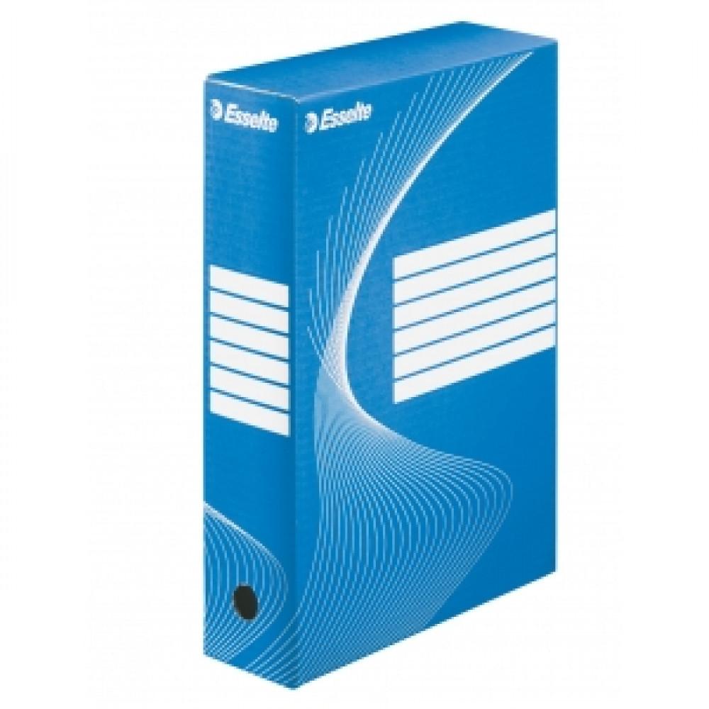 Archívny box 80mm Esselte modrá/biela