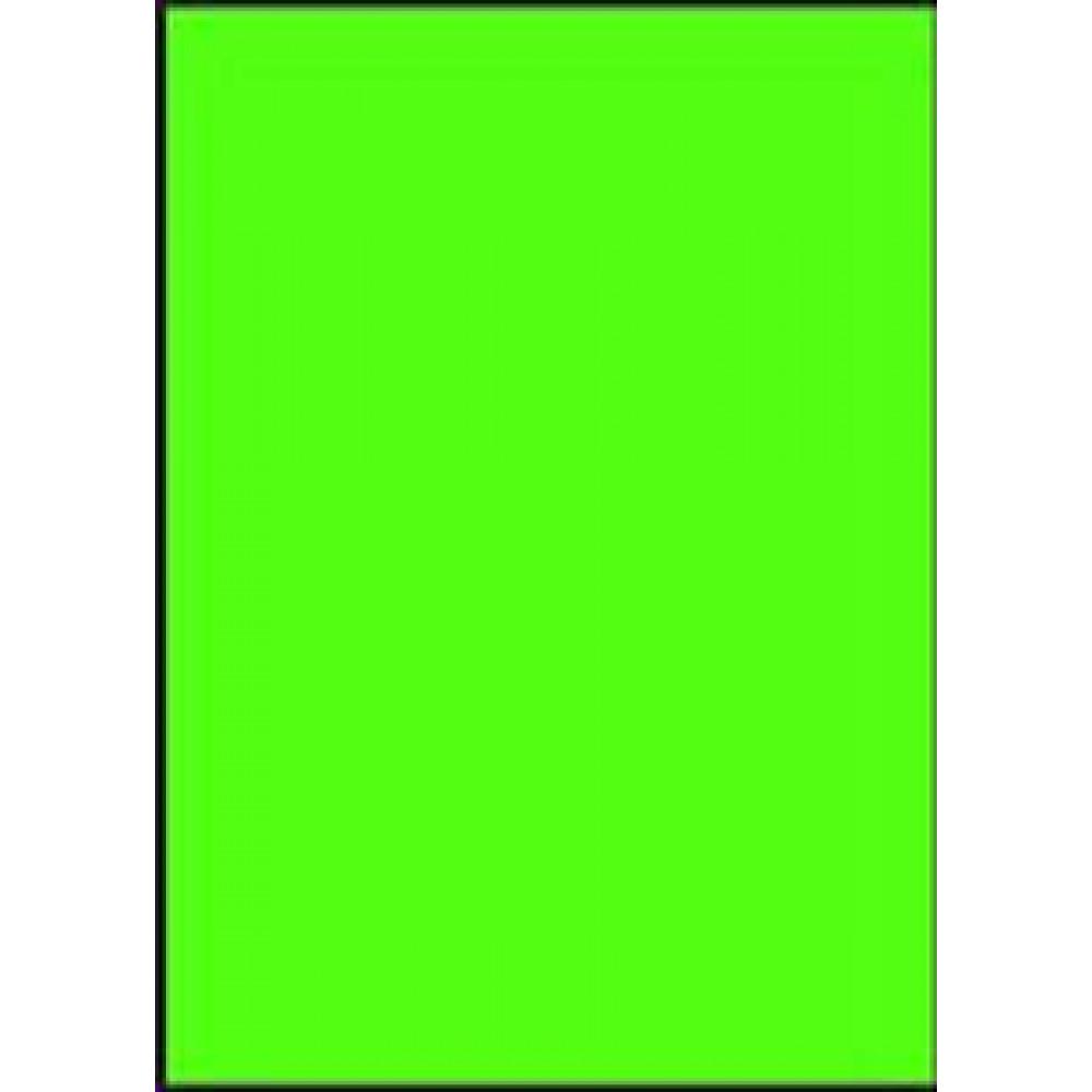 Etikety laser fluo.zelené A4