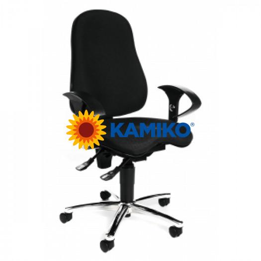 Kancelárska stolička Sitness 10 čierna