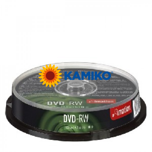 Imation DVD-RW 4x 4,7GB cake 10 ks