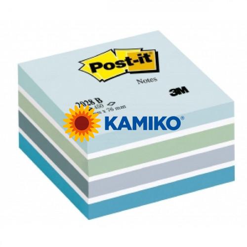 Samolepiaci bloček kocka Post-it 76x76 ľadová 2028N