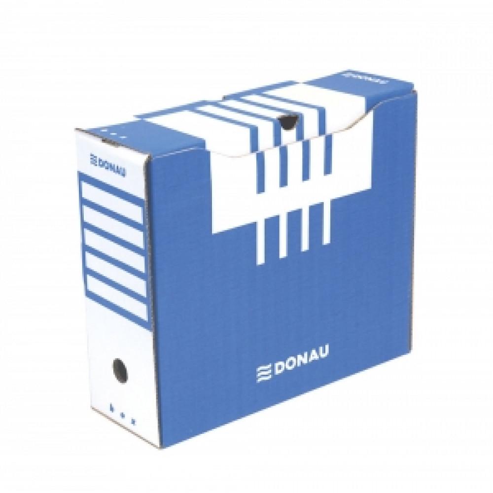 Archívny box 120mm modrý