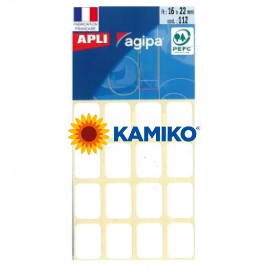 Etikety Agipa , 16x22 mm