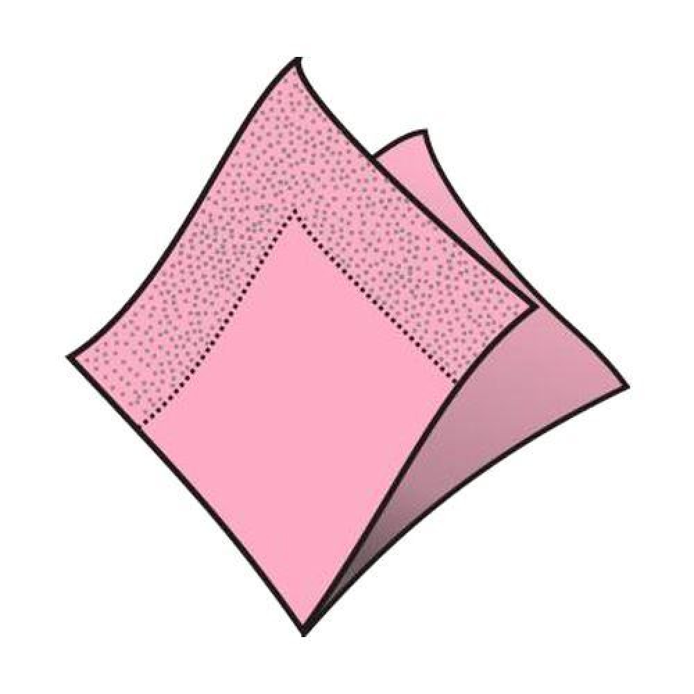 Servítky 33 x 33 cm, 3 vrstvy, ružové