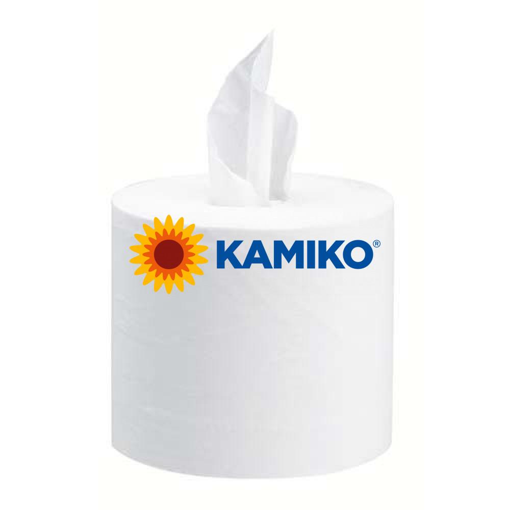 Toaletný papier 2vr KAMIKO SMART mini 111m, biela celulóza