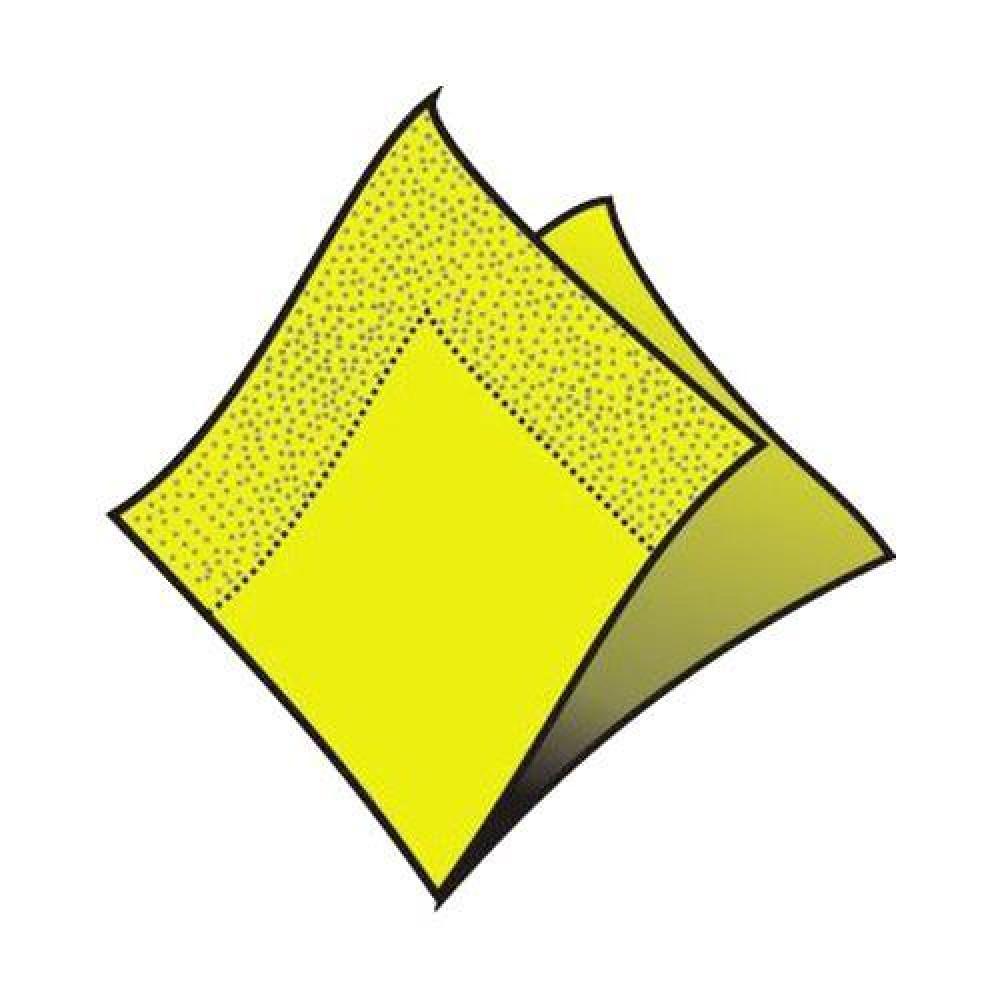 Servítky 33 x 33 cm, 3 vrstvy, žltozelené